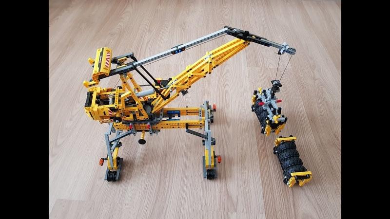 Lego 2 Lego Technic Mobile Crane 8053 Alternative