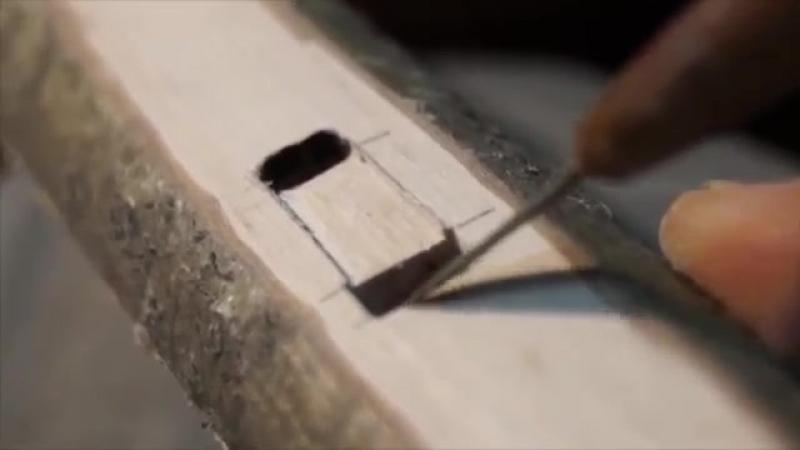Пошаговое изготовление флейты Любви (индейский пимак)