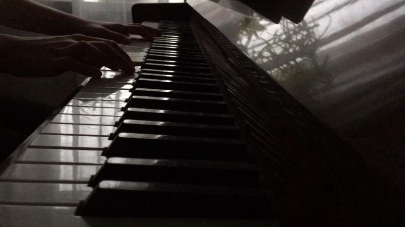 Из кф Хатико - самый верный друг,Goodbye на фортепиано.