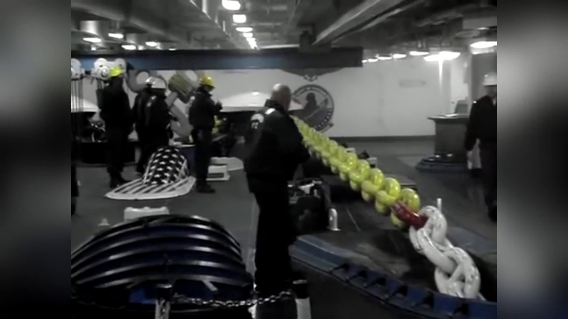 Судовой Механик Спуск якоря