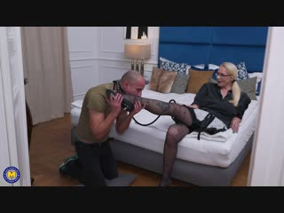 Kinky mature lady doing her submissive toyboy with a strapon - http://www.vidz7.com