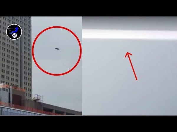Shocking Video of two UFOs fighting each other over Manhattan,NY July 18,2018
