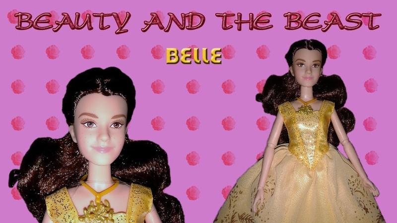 Обзор Disney Beauty and the Beast Belle doll Enchanting Ball Gown Красавица и чудовище Белль
