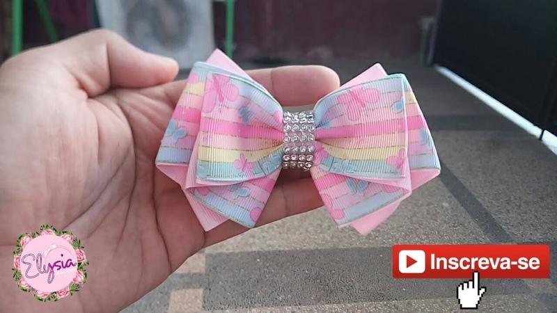 Laço Inova 🎀 Ribbon Bow Tutorial 🎀 DIY by Elysia Handmade