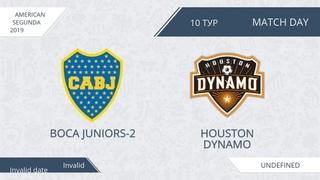AFL19. America. Segunda. Day 10. Boca Juniors-2 - Houston Dynamo.