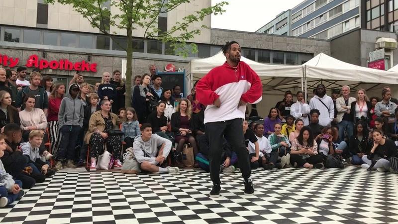 The Smash Up 2018   Hip Hop Semifinale   Kazim vs Sidney   Danceproject.info