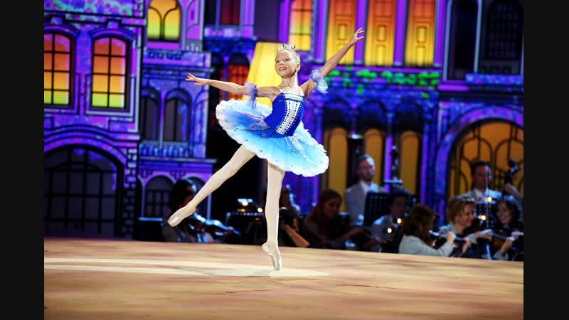 Просто чудо Прекрасная юная балерина Наташа Фурман Синяя птица