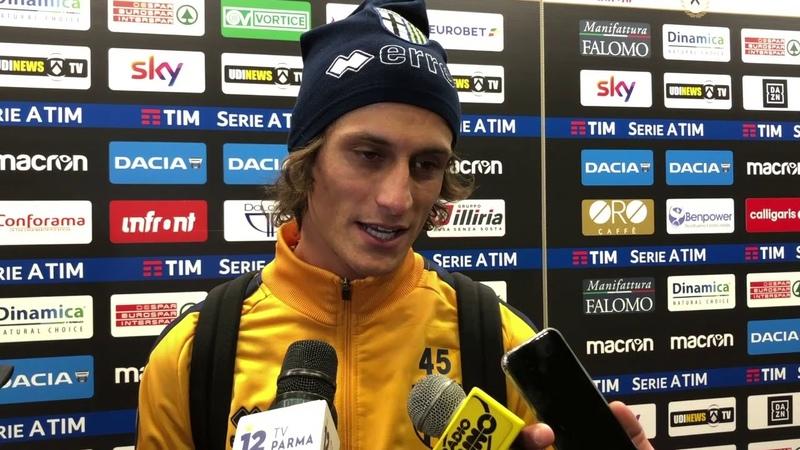 Roberto Inglese dopo Udinese-Parma 1-2