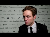 Robert Pattinson about low-budget films at #KVIFF, 07.07.2018