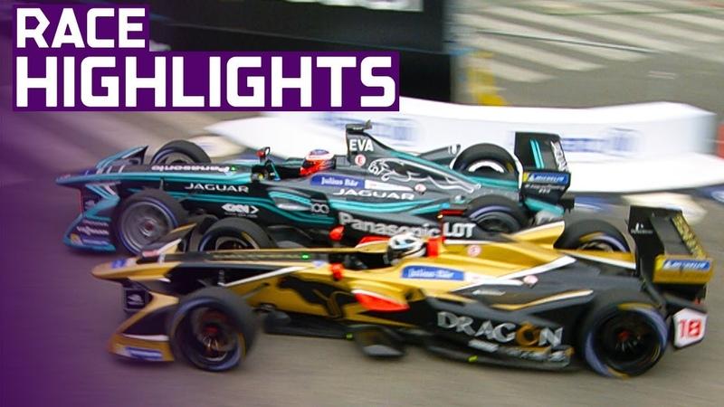 Race Highlights: History Is Made! | 2018 CBMM Niobium Rome E-Prix presented by Mercedes EQ