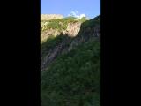 Домбай, водопад Чёртова Мельница