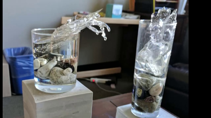 Creating a Splashing Water Effect with Epoxy Resin