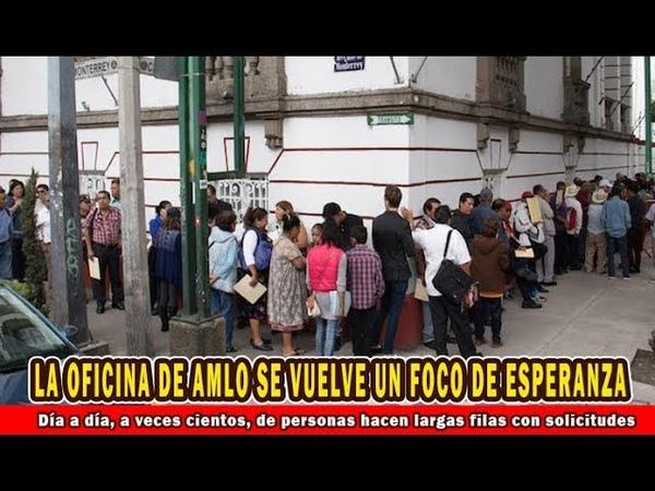 Todos tienen una petición para Andrés Manuel López Obrador