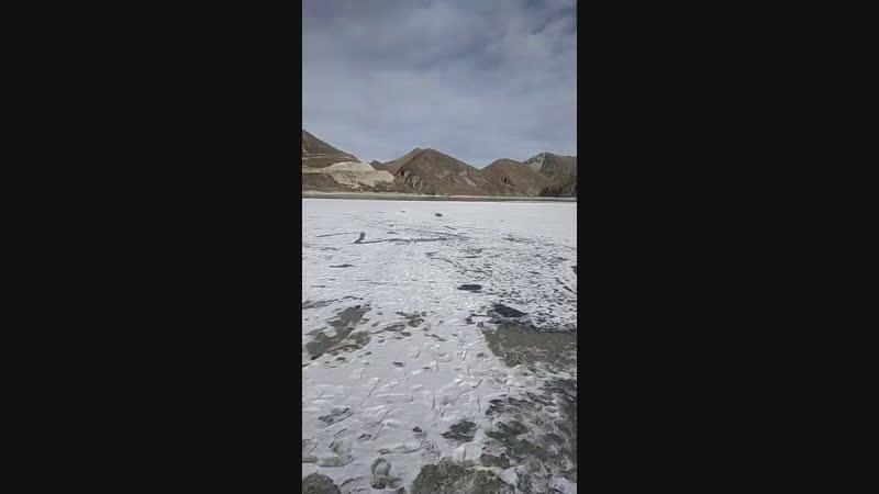 казеной Ам горное чеченсое озеро