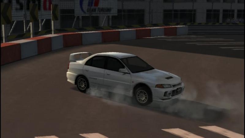 Gran Turismo PSP. Mitsubishi Lancer Evolution IV. ParkingMaster