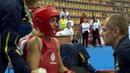 14th WWC - Women's Sanda 56kg Final - Huimin LIN (CHN) vs Elin OBERG (SWE)