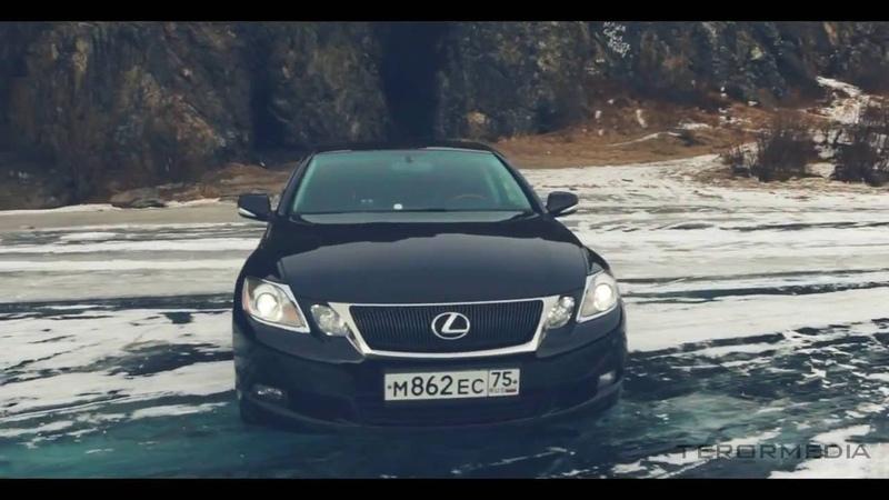Lexus gs 460 / drift / Замерзшее озеро / Жекич дубровский