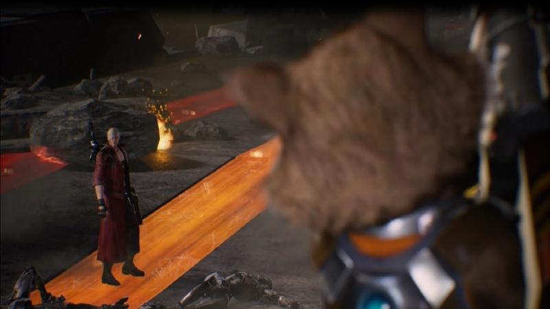 Marvel vs. Capcom: Infinite (PS4-Demo) Dante/Rocket Raccoon Gameplay HD 720p 60fps