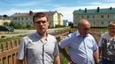Контрольный выезд в г.Усмань Липецкой области по предоставлению некачественного жилья сиротам