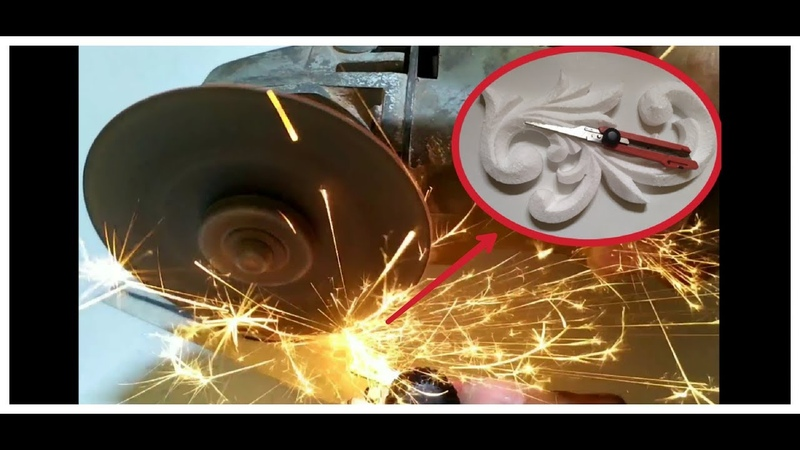 Cara membuat pisau ukir styrofoam/How to make Styrofoam carving knife