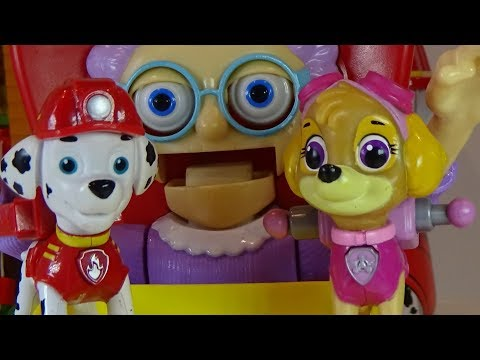 PAW PATROL- Puppies Play a Funny Game, We Open a Surprise Egg, Funny Video for Kids.