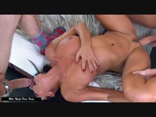 Lezley zen [big tits, big ass, milf, blowjob, cowgirl, double penetration, all sex]