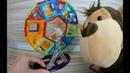 Магнитный конструктор Magformers и магниты на холодильник для зообумиков. Видео для детей.