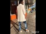 Пиджак в полоску летний удлиненный