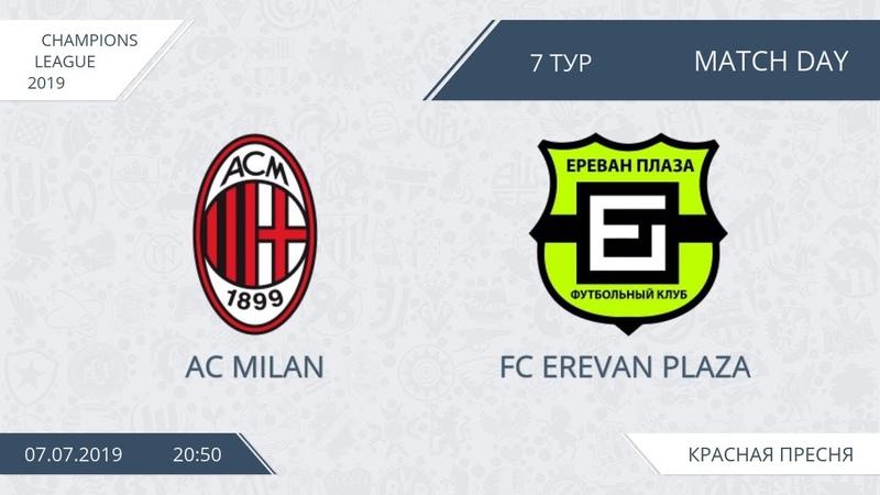 AFL19. Champions League. Day 7. AC Milan FC Erevan Plaza