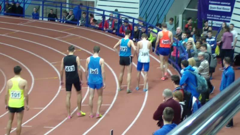 Чемпионат Санкт-Петербурга в беге на 800м - 2 место - 1.52.36