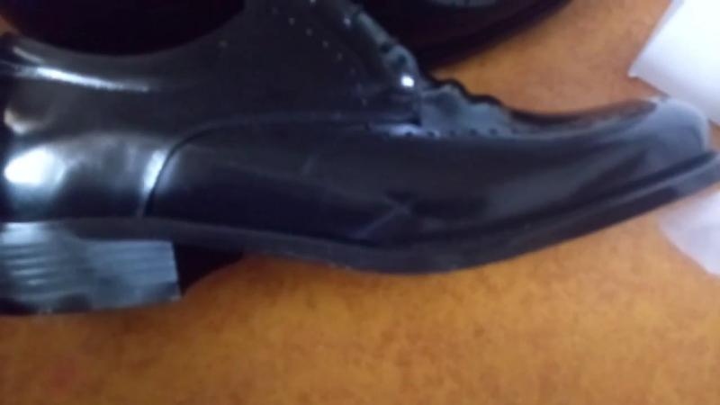 Атоми новинка мужские туфли