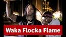 Waka Flocka Flame DJ Whoo Kid обсуждают русский рэп в Видеосалоне №93