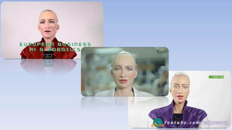 """Robot Sophia theo đuổi """"nghề nghiệp"""" mới: Nhà quảng bá sự kiện (AI ROBOTICS, RAADfest, New.New)"""