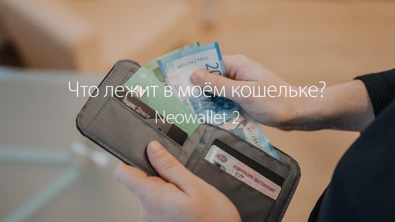 Что лежит в моём кошельке Neowallet 2