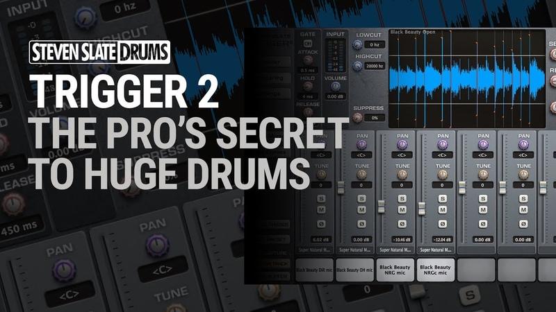 TRIGGER 2 The Pro's Secret To HUGE Drums