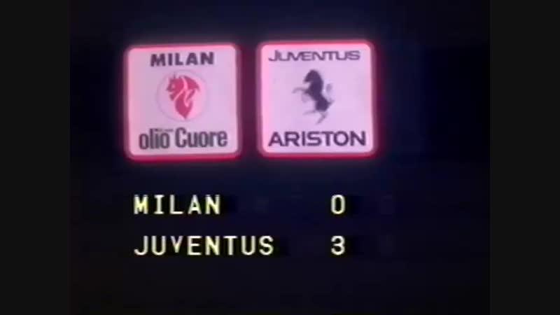 Милан. Обзор. 19.02.1984