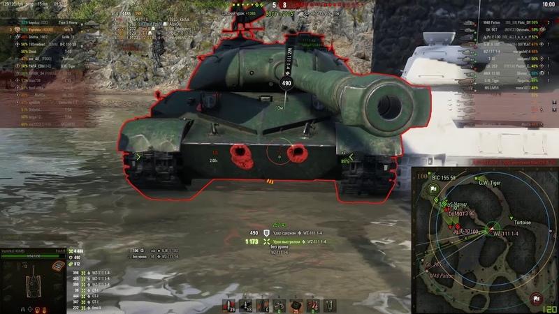 AMX 50 Foch B Трубы и Насилие Ультимативного Барабана worldoftanks wot танки wot