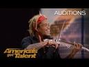 Brian King Joseph: Electric Violinist Stuns With Talent - America's Got Talent 2018