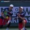 """ATP Tour on Instagram: """"Don't 👏 Sleep 👏 On 👏 Doubles 👏  This point from @bryanbros @mikecbryan is EVERYTHING 🤯  Watch the BNPPO19 on @tennistv  ..."""