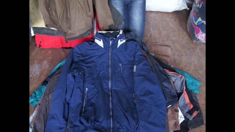 MEN LIGHT JACKETS EX мужские ветровки экстра котегории 25 кг по 8 евро -50% скидка Себестоимость 177 руб/ед.