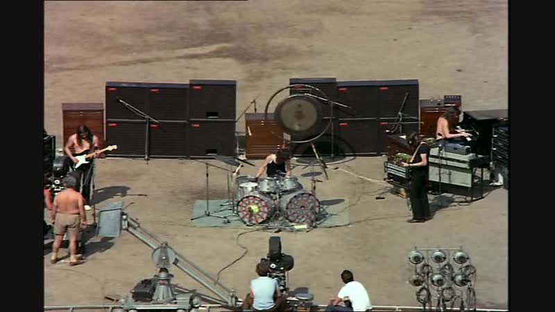Pink Floyd - Echoes (Part 1) - Live in Pompeii