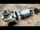 Useful Grinder Hack Blender motor to Grinder! - Taşlamaya blender motoru taktım!