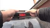 Замена ламп задних фонарей Toyota Nadia