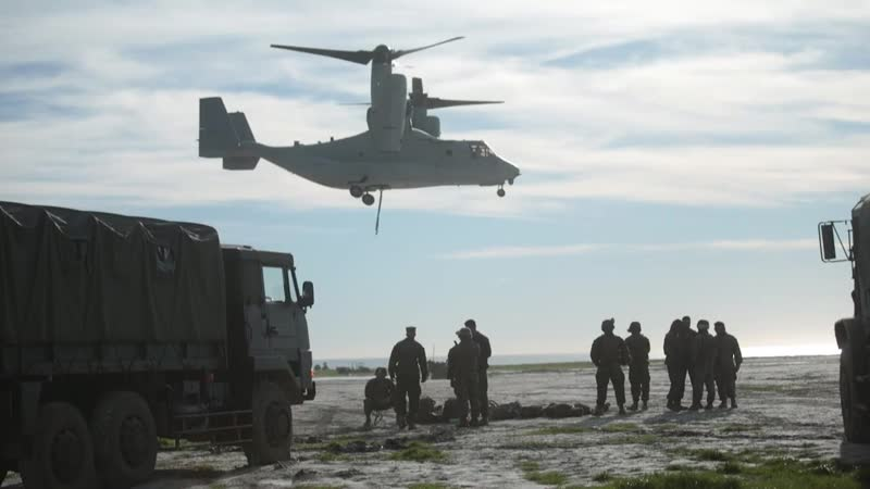 Iron Fist 19 Helicopter Support Team Training CA, UNITED STATES 22.01.2019