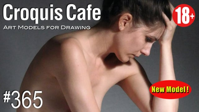 CROQUIS CAFE Art Models for Drawing, No. 365 (Recorded in 4K)