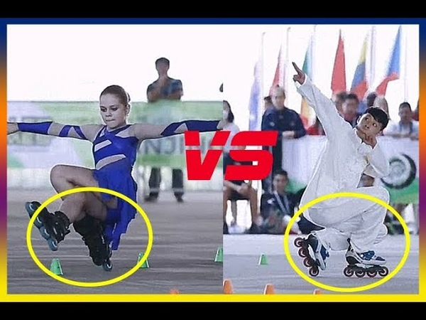 Freestyle skate dancing | roller games slalom world champions | Amazing videos 2018 (02)