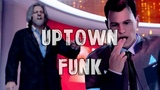 Detroit Become Human Connor and Hank Uptown Funk
