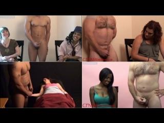 [СП] Девушки смотрят как кончают мужики - cfnmwatchers #3 (cfnm, handjob,cumshot,wank,jerk,orgasm,онанизм,мастурбация,эякуляция)
