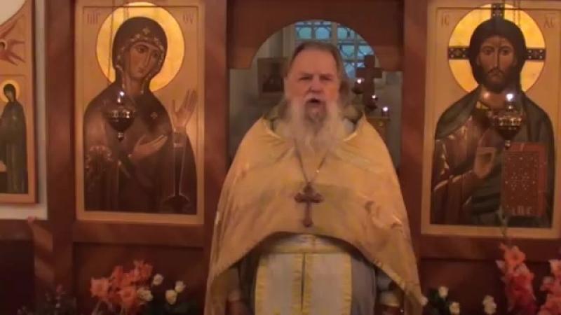 Священник Павел Адельгейм Проповедь в храме свв Жён мироносиц Псков 30 9 2012