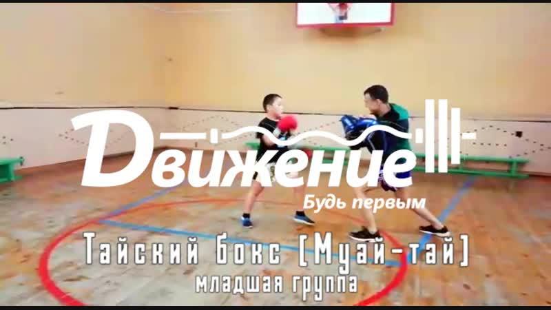 Тайский бокс Муай тай мл группа